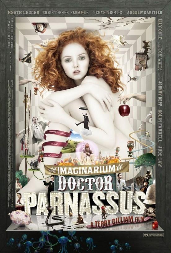 image affiche l'imaginarium du docteur parnassus terry gilliam
