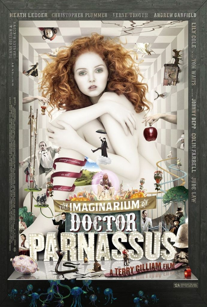 image affiche l'imaginarium du docteur parnassus terry gilliam