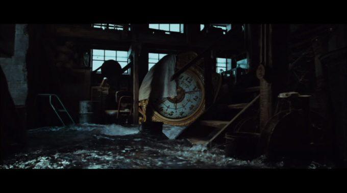 image horloge eau l'étrange histoire de benjamin button david fincher