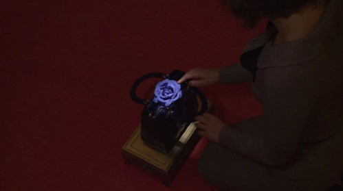 Une rose bleue dans le sac Lady Dior... réminiscences de Twin Peaks le film