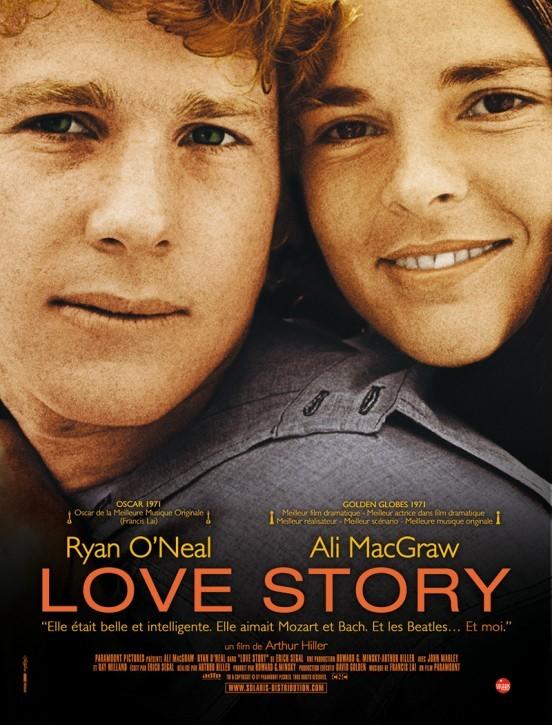 image affiche love story hiller