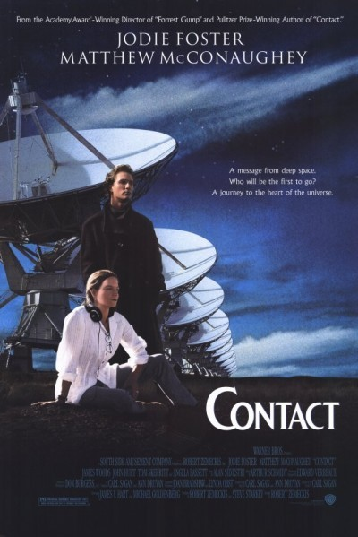 image affiche contact zemeckis