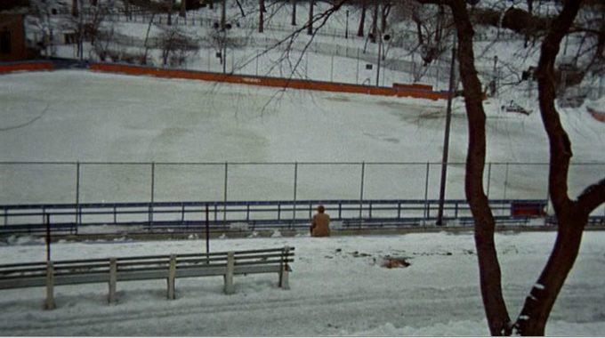 image ryan o'neal banc sous la neige love story