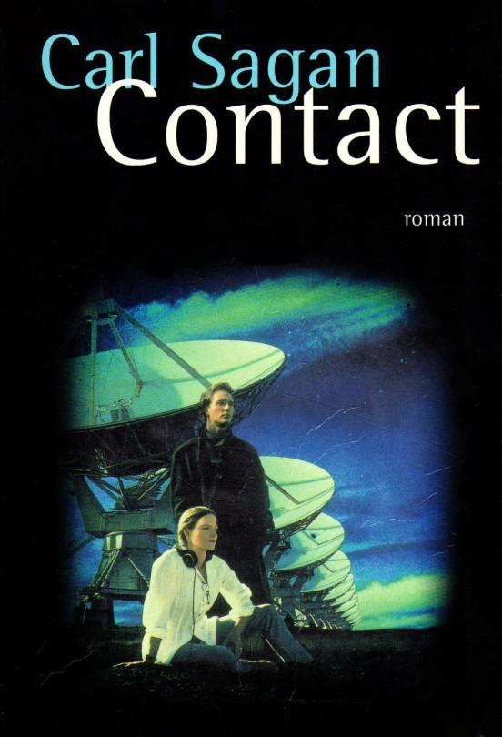 image couverture roman carl sagan contact