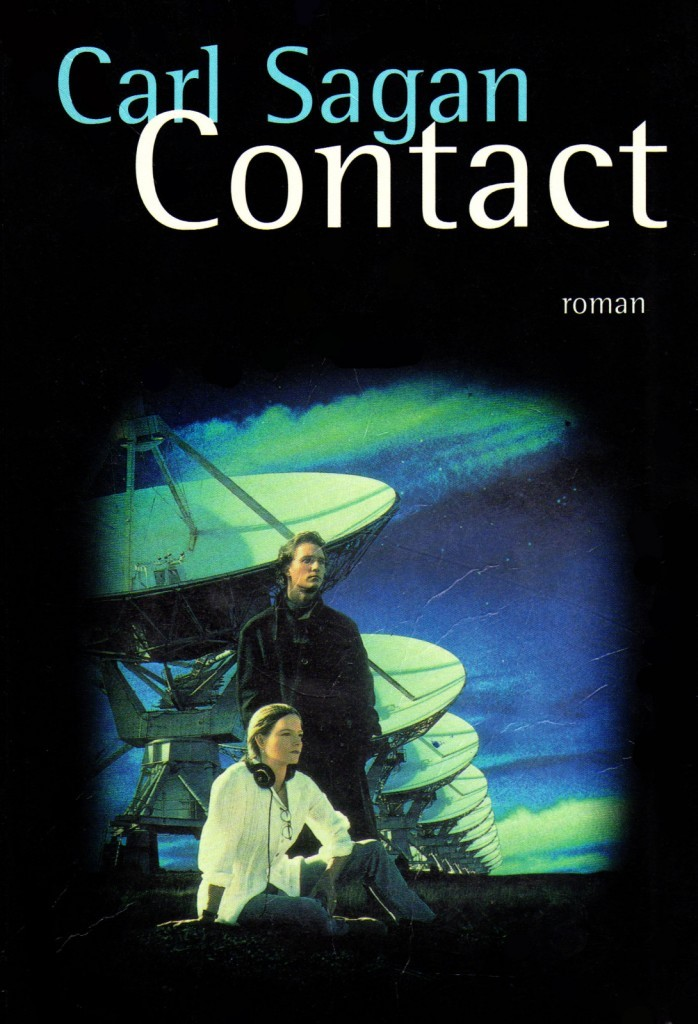 image couverture roman carl sagan contact