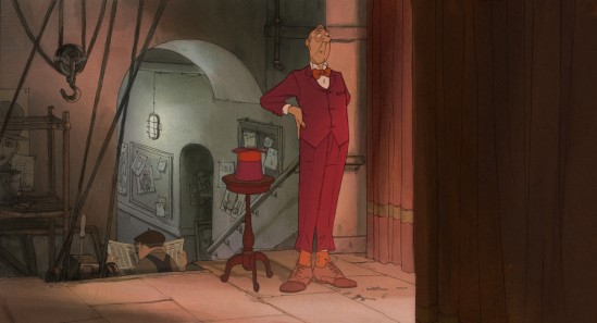 L'Illusionniste de Sylvain Chomet: critique du film