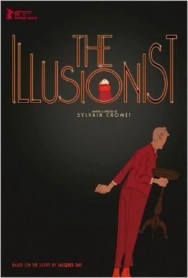 L'Illusionniste, le nouveau film d'animation de Sylvain Chomet après Les Triplettes de Belleville en 2002.