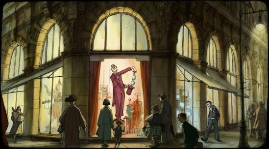 L'animation de Sylvain Chomet est remarquable. Le cinéaste a décidément plus d'un tour dans son chapeau!