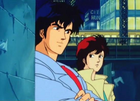 City Hunter (Nicky Larson): Ryo (Nicky) et Kaori (Laura), partenaires de choc... et couple parfait qui n'ose pas se l'avouer.