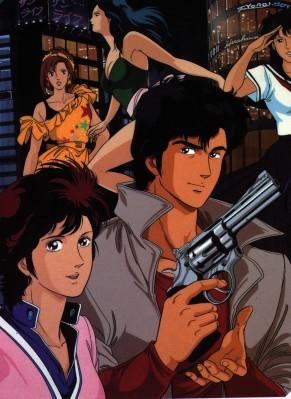 City Hunter (Nicky Larson): Nicky Larson (Ryo Saeba) et Laura Marconi (Kaori Makimura), partenaires inséparables du dessin animé culte diffusé au Club Dorothée dans les années 90.