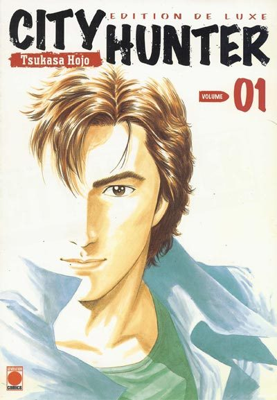 image couverture city hunter volume 1 tsukasa hoko éditions panini deluxe