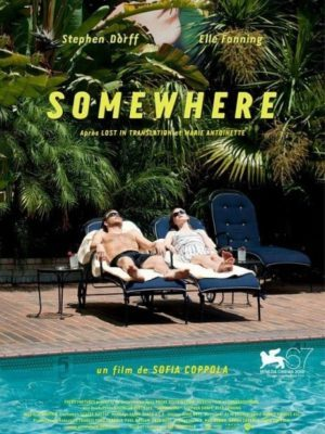 image affiche somewhere sofia coppola