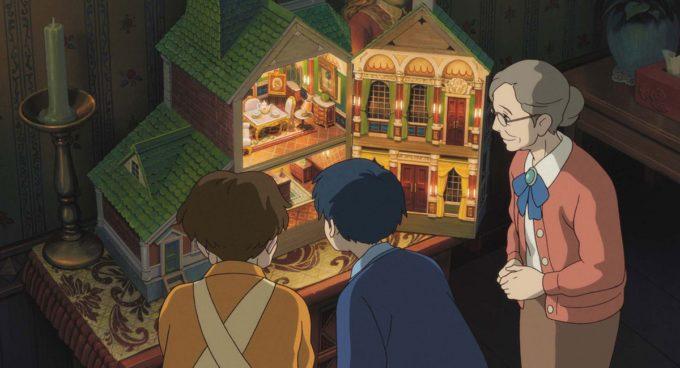 maison de poupées enfants vieille dame arrietty studios ghibli