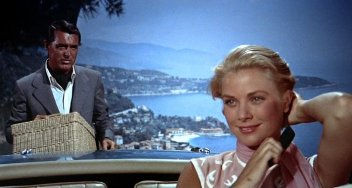 image grace kelly cary grant la main au collet hitchcock