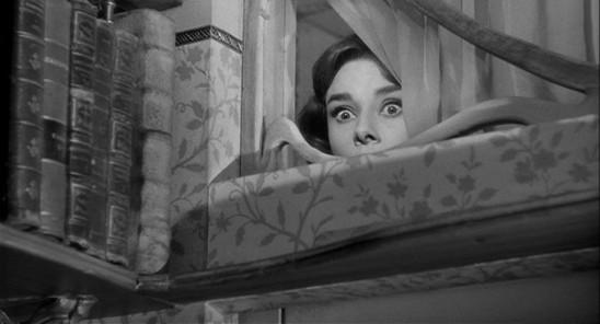 Audrey Hepburn dans Ariane de Billy Wilder (1957).