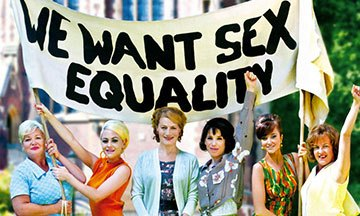 image gros plan affiche we want sex equality
