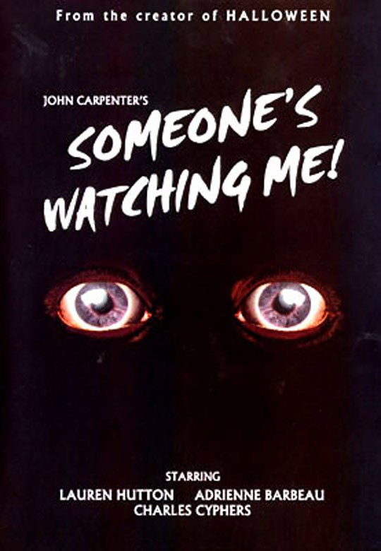 image affiche someone's watching me john carpenter