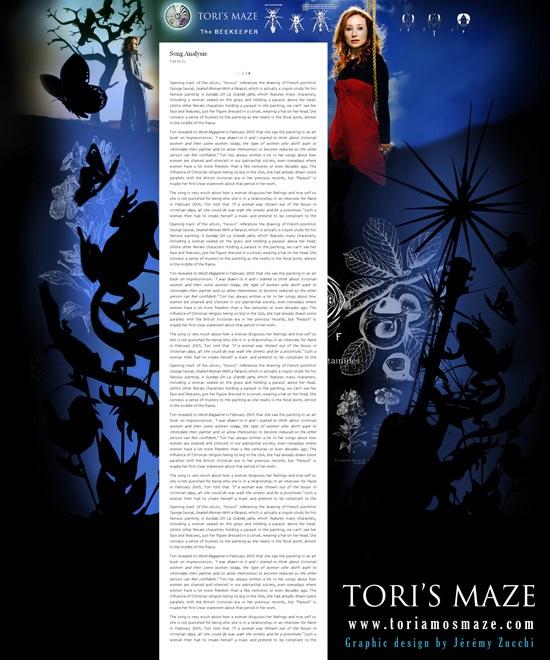Tori's Maze : Preview n°3