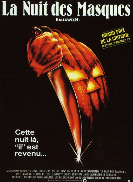 image affiche halloween john carpenter