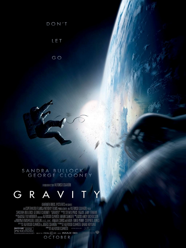 Gravity d'Alfonso Cuarón (2013) : critique du film