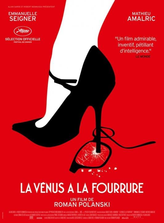 La Vénus à la fourrure de Roman Polanski (2013) : critique du film