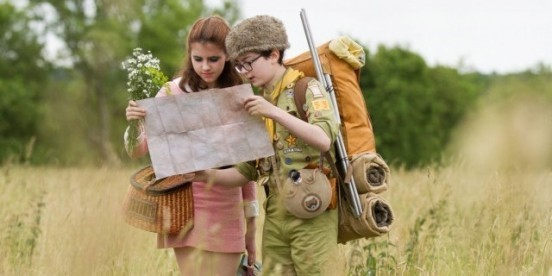 Moonrise kingdom de Wes Anderson (2012)