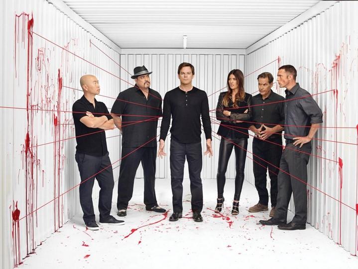 image cast dexter saison 8 showtime