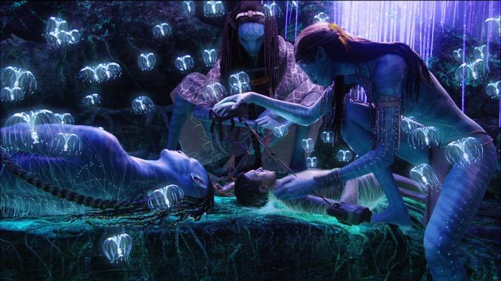 Image du film Avatar de James Cameron (2009).