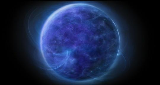 La planète Solaris dans le film éponyme de Steven Soderbergh (2002).