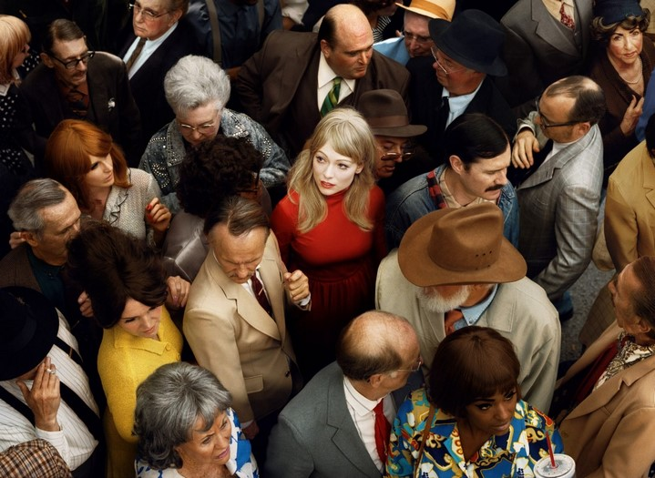 alex prager face in the crowd