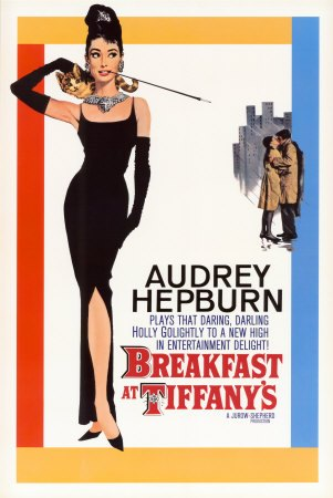 image affiche diamants sur canapé breakfast at tiffany's blake edwards