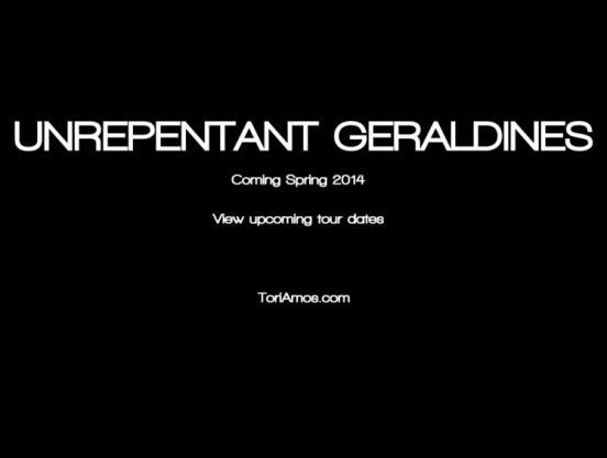 unrepentant geraldines announcement tori amos