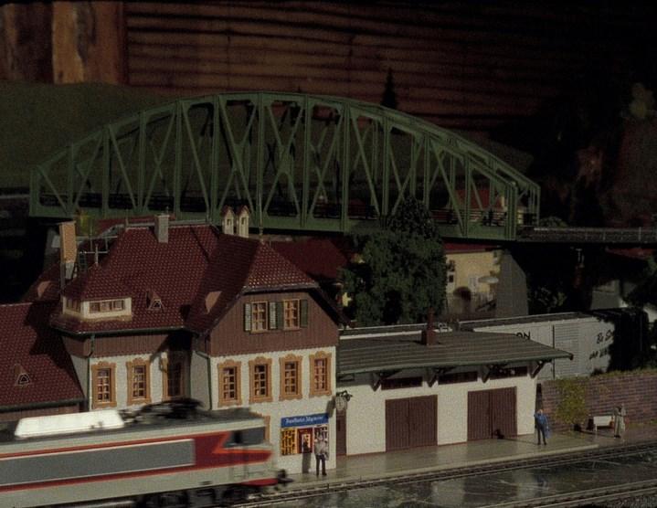 Maquette de train de Jean-Yves Gondry dans le documentaire L'Epine dans le coeur