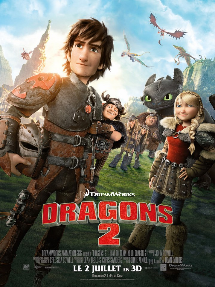Critique express : Dragons 2 de Dean DeBlois (2014)