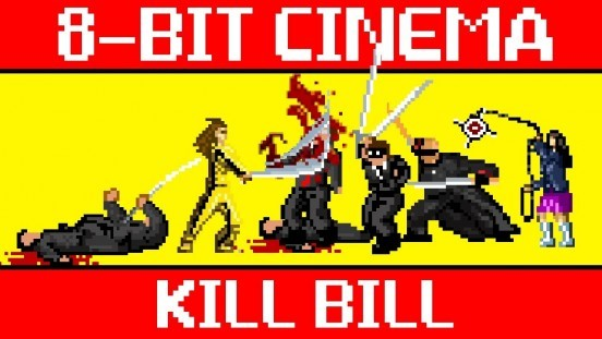 kill bill 8 bit game