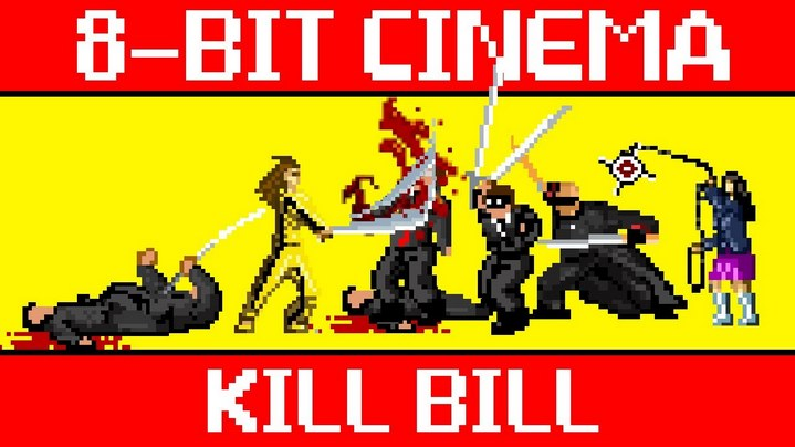Kill Bill vol 1 & 2 adapté en jeu 8 bit