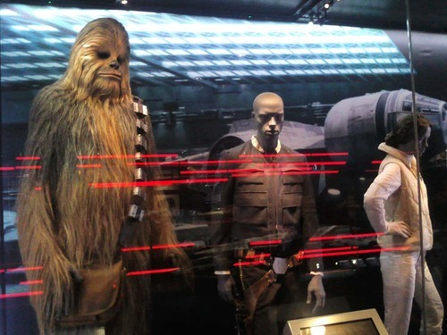 star wars identities leia chewbaca