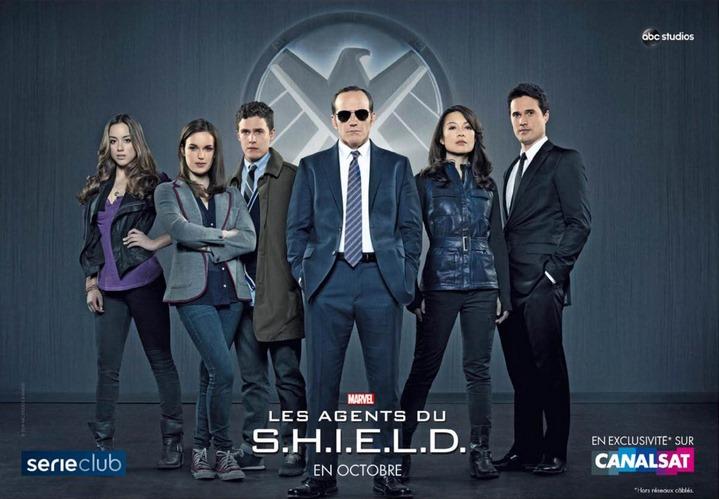 agents du shield canalsat