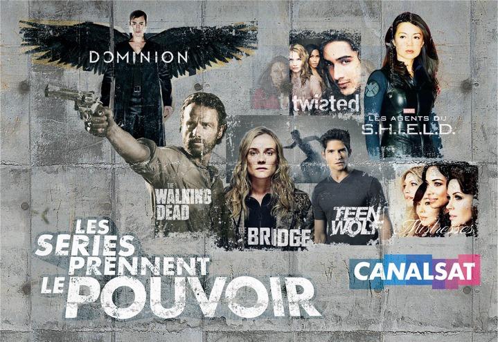 Les séries prennent le pouvoir sur CanalSat !