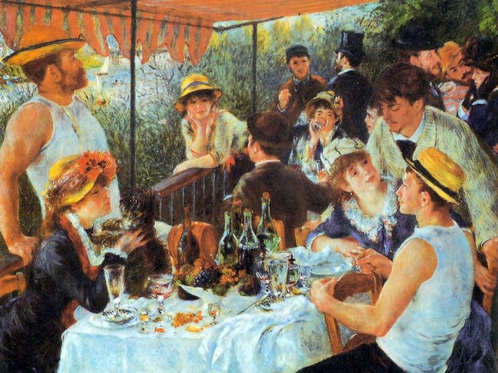 Déjeuner des canotiers de Pierre-Auguste Renoir (1880-1881).