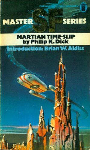 """Edition américaine du roman """"Glissement de temps sur Mars"""" de Philip K. Dick."""