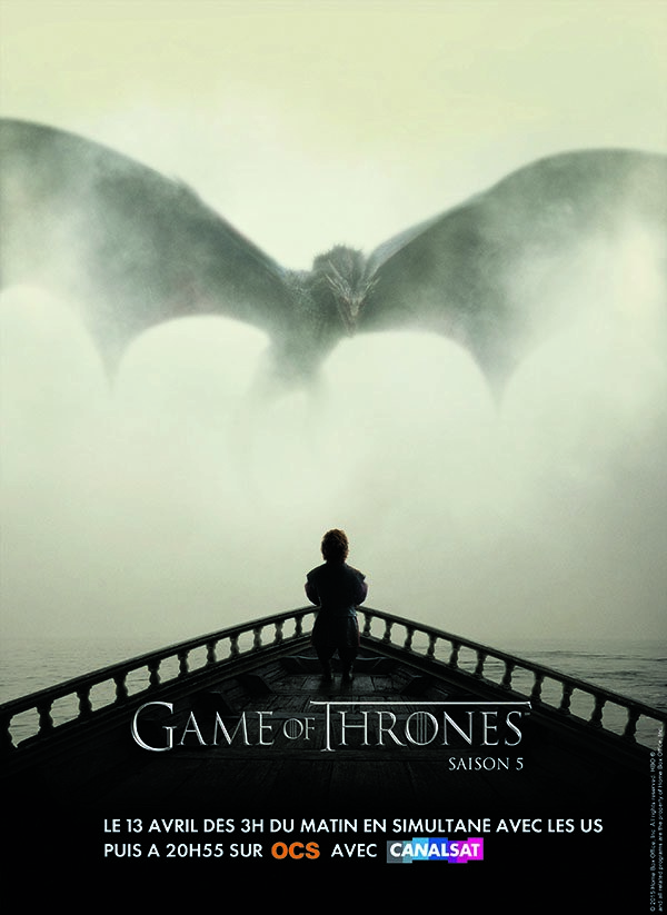 Game of Thrones saison 5 sur OCS avec CanalSat