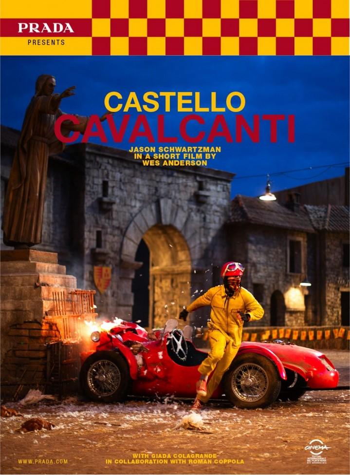 Castello Cavalcanti de Wes Anderson pour Prada : la publicité sans produit