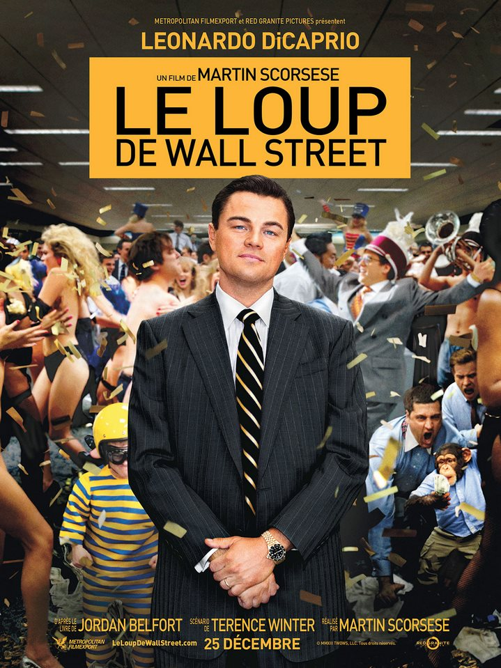 Le loup de Wall Street de Martin Scorsese (2013) : critique du film