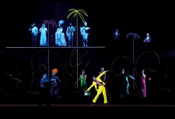 Les Nègres par Robert Wilson : Jean Genet sous les néons