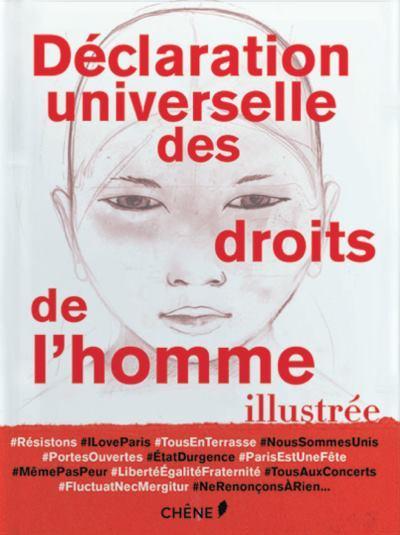 image couverture déclaration universelle des droits de l'homme illustrée