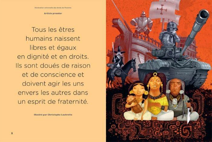 declaration-universelle-des-droits-de-lhomme-illustrée-illustration