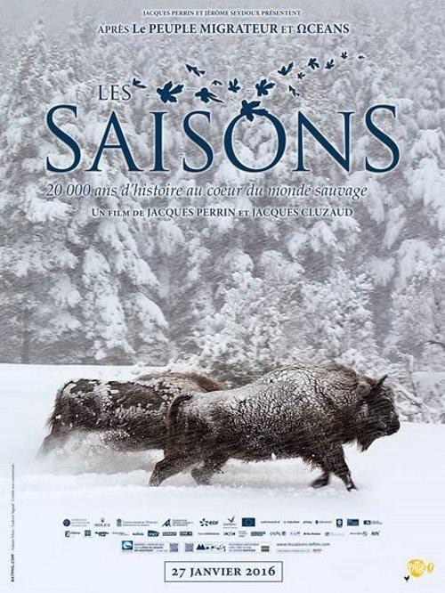 image affiche hiver les saisons