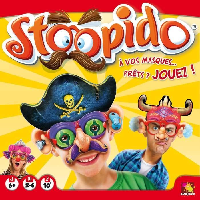[Gaming] Stoopido : haut les masques avec Asmodee