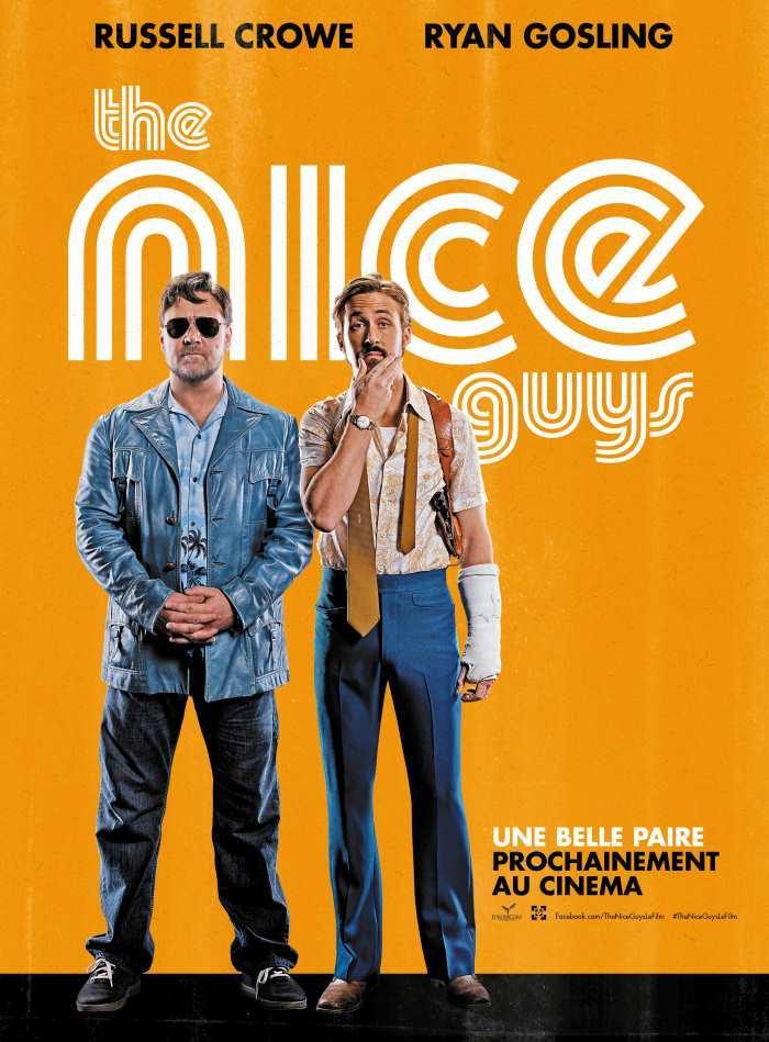 Une affiche teasing pour The Nice Guys, par Shane Black, prochainement au cinéma